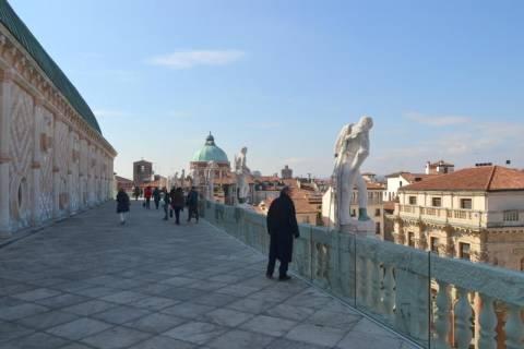 Vicenza: La terrazza della Basilica Palladiana
